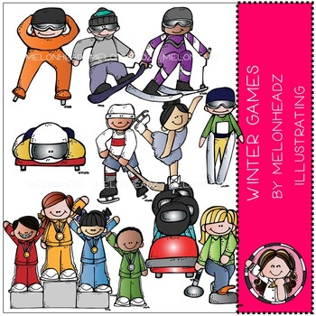 Marsha's winter games by Melonheadz