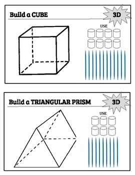 Marshmallow 3D Shape Construction