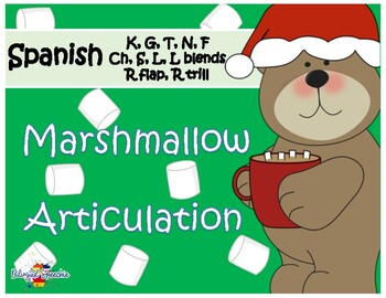 Marshmallow Articulation SPANISH