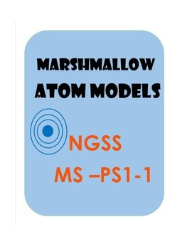 Marshmallow Atom Models