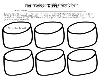 Marshmallow Buddy Activity