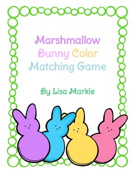 Easter Bunny Matching Activity for Preschool