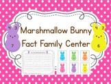 Spring Fact Families Math Center