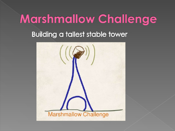 Marshmallow Challenge- First Day of School
