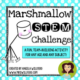 Marshmallow Challenge - STEM and Team Building Activity - PowerPoint Lesson