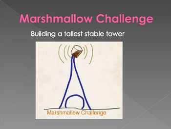 Marshmallow Challenge & Tower Challenge FIRST DAY OF SCHOOL