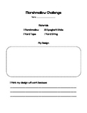 Marshmallow Challenge Worksheet