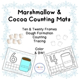 Marshmallow & Cocoa Counting Mats