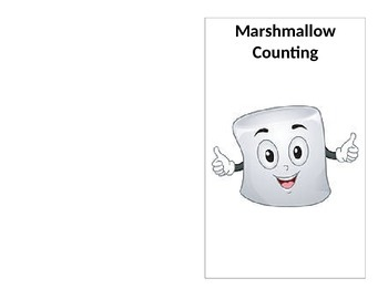 Marshmallow Counting Foldable - Pre-K