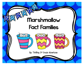 Marshmallow Fact Families!