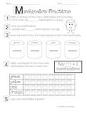 Marshmallow Fraction Fun