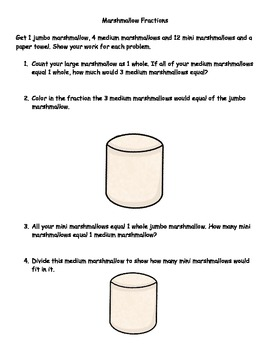 Marshmallow Fractions Review