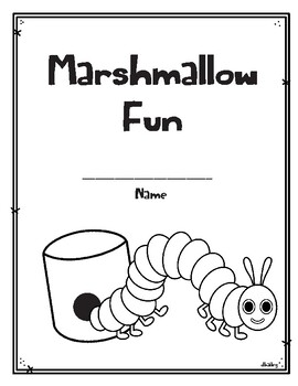 Marshmallow Fun With One Happy Caterpillar Activity Book