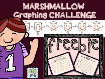 Marshmallow Graphing Challenge Freebie
