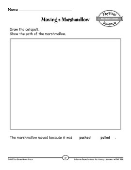 Marshmallow Launch (Position and Motion of Objects)
