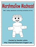 Marshmallow Madness: Math, Reading Comprehension and Writing
