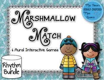 Marshmallow Match Aural Interactive Rhythm Game: Bundled Set