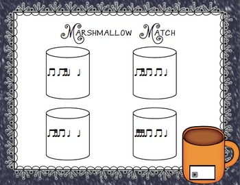 Marshmallow Match Aural Interactive Rhythm Game: Ti-Tika