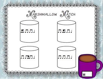 Marshmallow Match Aural Interactive Rhythm Game: Tika-Ti