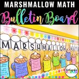 Marshmallow Math Hot Cocoa Addition Winter Bulletin Board Set K