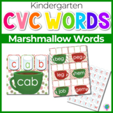 Marshmallow Mats for Building CVC Word Families