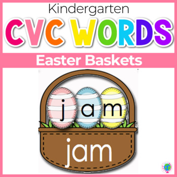 CVC Word Families Word Building Activity for Literacy Centers