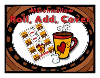 Marshmallow: Roll, Add, Cover  FREEBIE