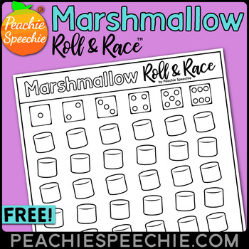 Marshmallow Roll and Race Open Ended Reinforcement Dice Mats