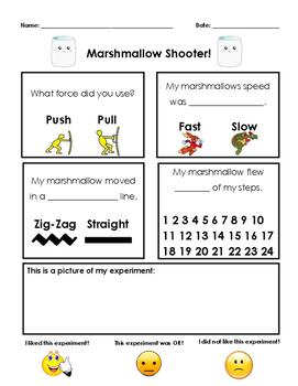 Marshmallow Shooter Sheet