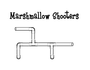 Air Pressure, Force & Motion~ Marshmallow Shooters