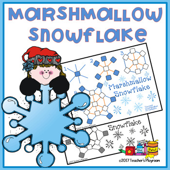 Marshmallow Snowflake Activity
