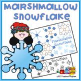 Marshmallow Snowflake Craft Activity