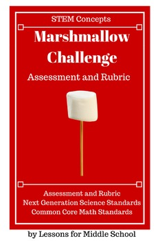 STEM-Marshmallow & Spaghetti Tower Challenge - ASSESSMENT