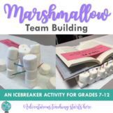 Marshmallow Team Building {A Back to School/New Semester A