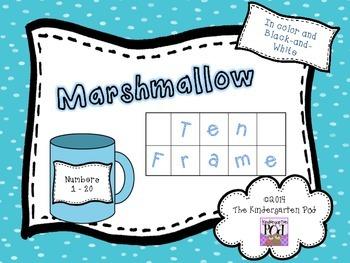 Marshmallow Ten Frames