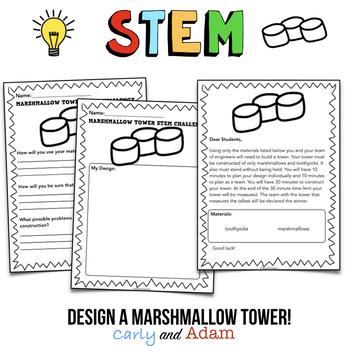 Marshmallow Tower STEM Challenge
