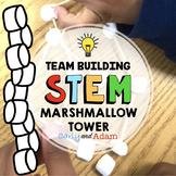 Marshmallow Tower Team Building STEM Challenge