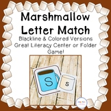 Marshmallow and Cocoa Alphabet Matching Cards