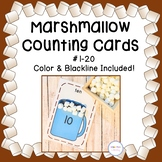 Marshmallow and Cocoa Counting Cards
