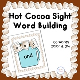 Marshmallow and Cocoa Sight Word Building