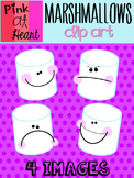 Marshmallows Clip Art FREEBIE