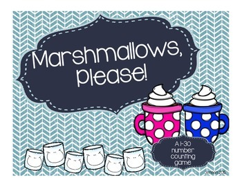 Marshmallows Please! A Counting Game