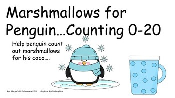 Marshmallows for Penguin