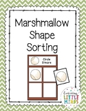 Marshmellow Shape Sorting