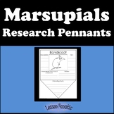 Marsupials Research Pennants