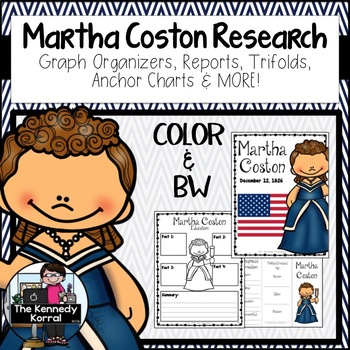 Martha Coston: Biography Research Bundle {Report, Trifold,