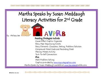 Martha Speaks--Literacy Activities for 2nd Grade