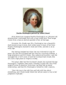 Martha Washington - A Short Biography for Kids