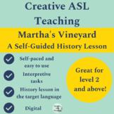 Martha's Vineyard Self-Guided History Lesson