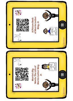 Marther Luther King Day QR Listening Center